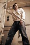 Macho da forma de Grunge Imagem de Stock Royalty Free