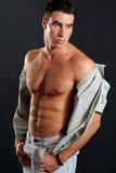 Macho de Musculous Imagem de Stock