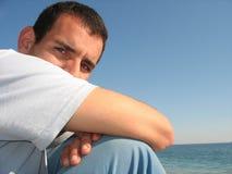 Macho no mar Foto de Stock