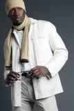 Macho novo do americano africano Fotografia de Stock