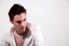 Macho novo - Jon Fotografia de Stock