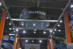 MacHOUSE company booth Stock Photos