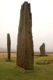 machrie maur położenie kamieni Zdjęcie Royalty Free
