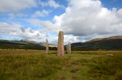 Machrie Moor, Standing Stones Royalty Free Stock Photography