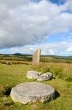 Machrie Moor, Standing Stones Stock Image
