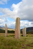 Machrie Moor, Standing Stones Stock Photo