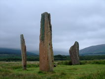 Machrie Moor Stone Circle Royalty Free Stock Photos