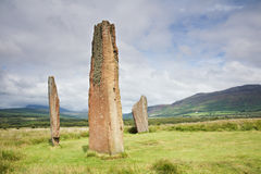 Machrie stones Stock Images