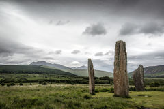 Machrie Stones Stock Photography