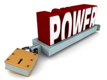 Macht in der Steuerung Lizenzfreies Stockfoto