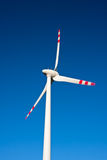 Macht die Windturbine produceren Stock Foto