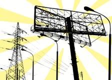 Macht en mededeling Stock Afbeeldingen