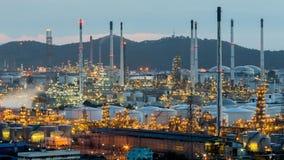 Macht en petrochemische elektrische centrale Royalty-vrije Stock Foto