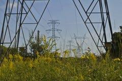 Macht op de Prairie stock afbeelding