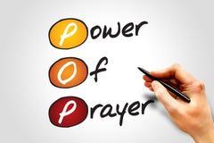 Macht van Gebed Royalty-vrije Stock Afbeeldingen