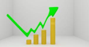 Macht van het investeren Royalty-vrije Stock Afbeelding