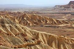 Machtesh Ramon - erosiekrater in de Negev-woestijn, het schilderachtigste natuurlijke oriëntatiepunt van Israël royalty-vrije stock fotografie