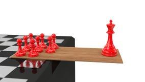 Machtgleichgewicht Stockfoto