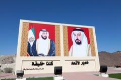 Machthaber Vereinigte Arabische Emirates Stockbild