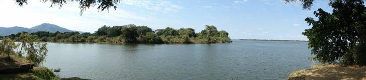 Machtige rivieren stock fotografie