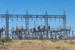 Machts subdiepost in de woestijn van Arizona wordt gevestigd royalty-vrije stock afbeelding