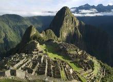 machu秘鲁picchu典型的视图 免版税库存照片