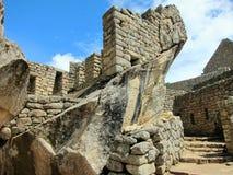 machu秘鲁picchu废墟 库存照片
