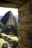 machu秘鲁picchu 库存图片