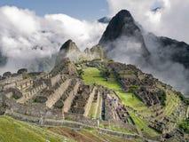 machu秘鲁picchu 免版税图库摄影