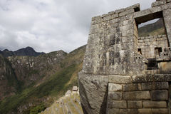 machu秘鲁pichu 免版税库存照片