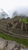 Machu forntida Picchu fördärvar Arkivfoton