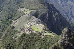 Machu horizontale Picchu - Royalty-vrije Stock Foto