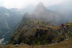 Machu místico Picchu Imágenes de archivo libres de regalías