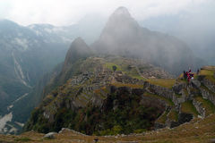 Machu mystique Picchu Images libres de droits