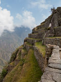 Machu Picchu在秘鲁的Cusco地区 图库摄影