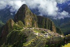 Machu Picchu在秘鲁 库存图片
