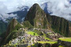 Machu Picchu在秘鲁 免版税库存照片