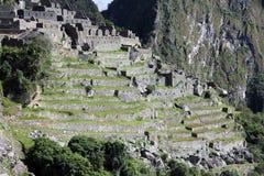 Machu Picchu大阳台 免版税图库摄影
