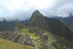 Machu Picchu废墟在秘鲁 联合国科教文组织世界遗产名录站点从1983年 图库摄影