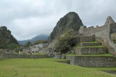 Machu Picchu废墟在秘鲁 联合国科教文组织世界遗产名录站点从1983年 免版税库存照片