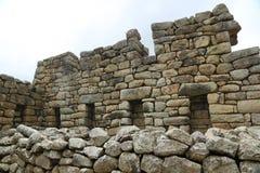 Machu Picchu废墟在秘鲁 库存图片