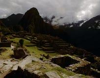 Machu Picchu废墟在秘鲁 免版税图库摄影