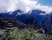 Machu Picchu废墟,秘鲁 免版税库存照片