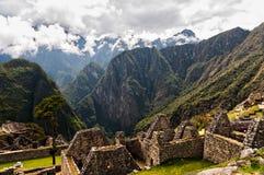 machu picchu废墟 秘鲁 库斯科 免版税图库摄影