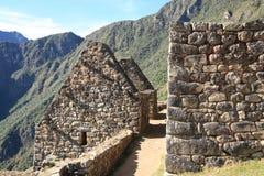 machu picchu废墟 免版税图库摄影