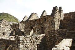 machu picchu废墟 库存照片