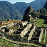 Machu Picchu废墟 免版税库存照片