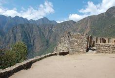 machu picchu废墟 图库摄影