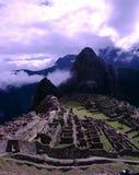 Machu Picchu,秘鲁废墟  库存图片