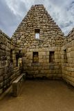 Machu Picchu, αρχαία archeological περιοχή, Περού Στοκ εικόνες με δικαίωμα ελεύθερης χρήσης